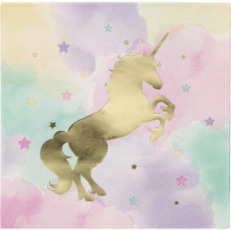 Lunsjservietter Unicorn Sparkle