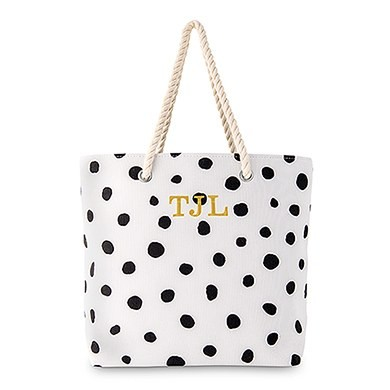 Black Dots - Personlig Bag
